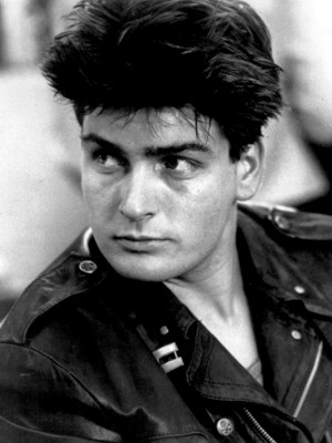 Charlie Sheen teenager